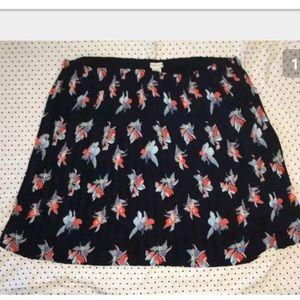 NWT Ava & Viv Pleated Skirt 4x